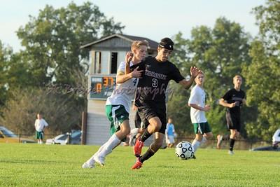 HCHS varsity soccer vs Zeeland West
