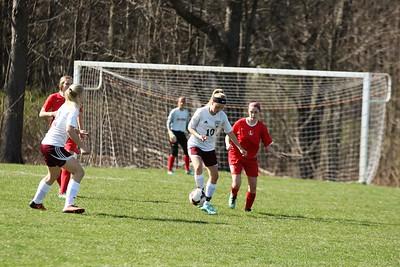 HCHS freshman soccer vs Lowell