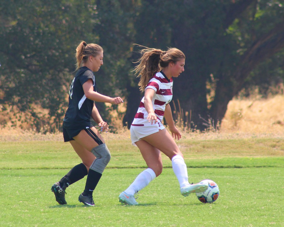 . Vehlilah Rothenberger (17) pressures a Sierra player in Friday\'s 4-0 loss,