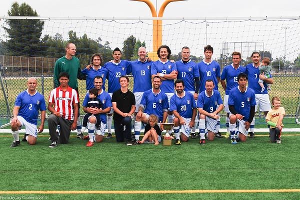 Club Italia, Winners of the Alan Hall Memorial San Diego Cup May 5, 2013