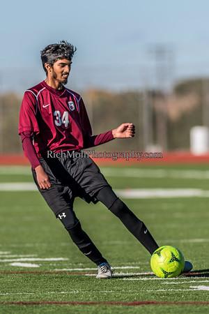 Senior Boys Soccer Action Poses