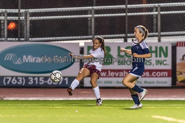 Soccer Maple Grove Boys & Girls vs CP 9-15-16