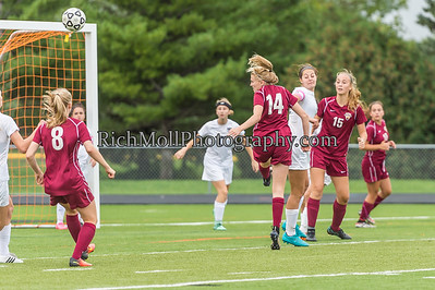Osseo vs. Maple Grove Girls Soccer 9-22-16