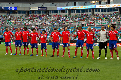 Costa Rica being introduced prior to the Concacaf Gold Cup, the final score of this match was 1-1