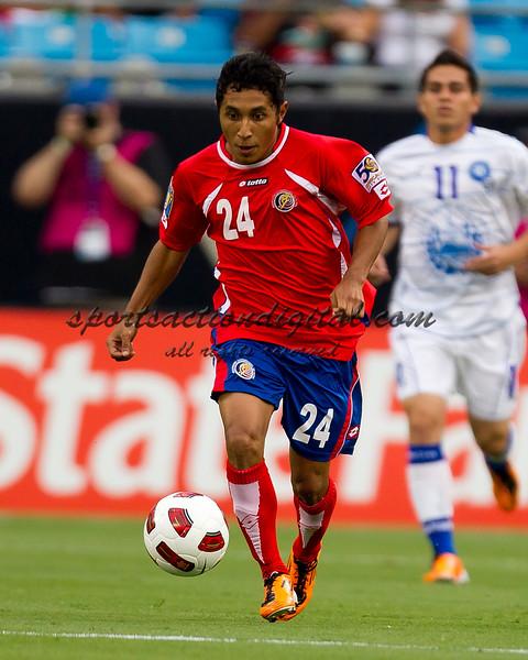 El Salvador vs Costa Rica Concacaf Gold Cup 6-9-11