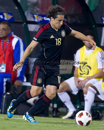 Mexico vs Cuba Concacaf Gold Cup 6-9-11
