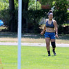 Vice President of the senior class at Fitchburg High School Gleymi Martinez, 17, was at Doyle Field in Leominster on Tuesday getting in some practice for this year soccer season. Here she practices some corner kicks. She has played soccer at FHS for four years. SENTINEL & ENTERPRISE/JOHN LOVE
