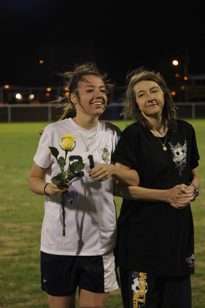 Soccer Senior Night 2014