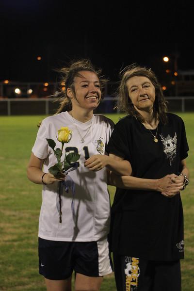 Soccer Senior Night 2014