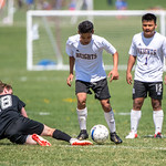 Soccer Without Borders High School Boys soccer game at Monfort Park in Greeley, CO, on Saturday, April 27, 2019.