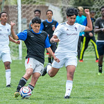 Soccer Without Borders JV High School Boys soccer game at Monfort Park in Greeley, CO, on Saturday, May 11, 2019.