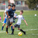 Soccer Without Borders Middle School Boys soccer game at Monfort Park in Greeley, CO, on Saturday, May 11, 2019.