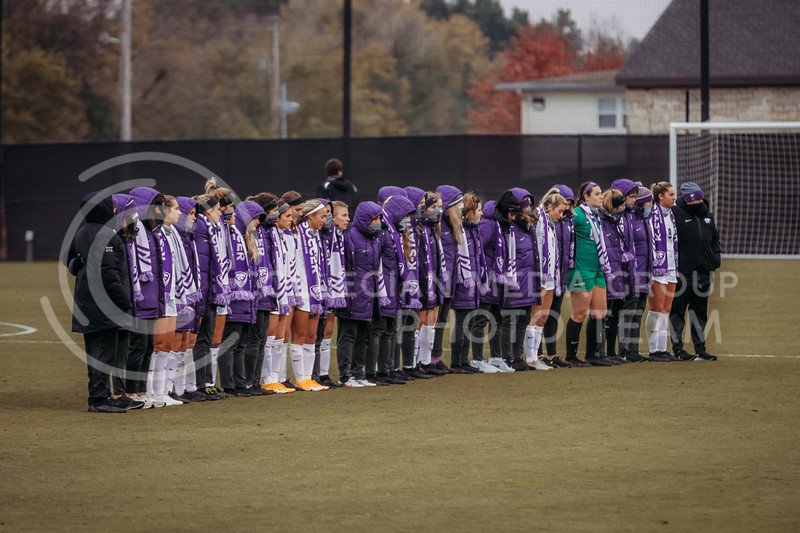 The team suffered a tough overtime loss to Texas Christian University on Oct. 25, 2020. (Sophie Osborn | Collegian Media Group)
