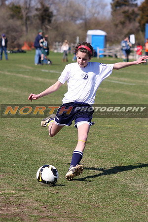 04/05/2009 (U13 Girls) Northport vs. Northport - Cow Harbor Soccer