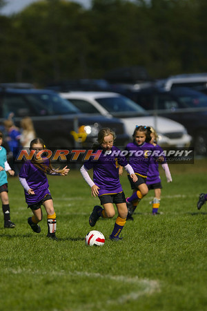 (U-8 Girls A) Wantagh vs. Sound Beach Sharks