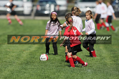 (U-9 Girls A) PMYSL Storm vs. PMYSL Hurricanes