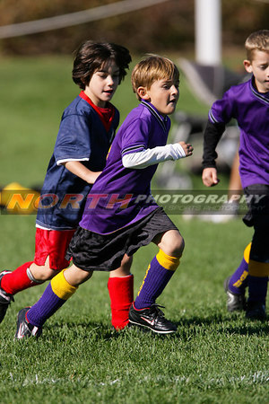 (U8 Boys) Bayport Storm vs. Bellport