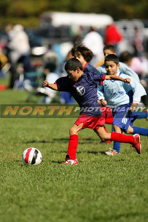 (U8 Boys) Roosevelt Crossfire vs. Bellport