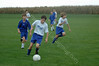 Michael - on the soccer field controlling the ball
