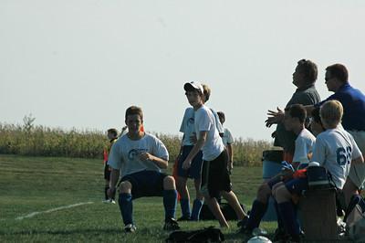 Boys Tippco Soccer vs Muncie Star Soccer Team September 23, 2007
