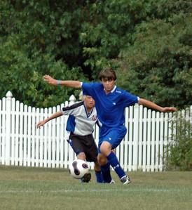 Boys Tippco Soccer vs Fishers August 19, 2007