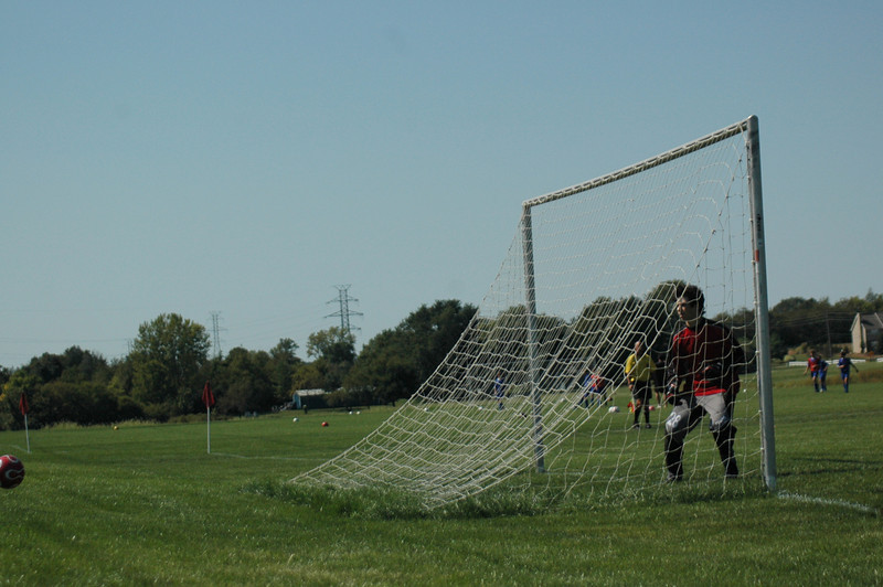 Keeper Save<br /> September 16, 2007 <br /> Tippco Blue Heat vs Fusion SA Soccer Match<br /> Great Game