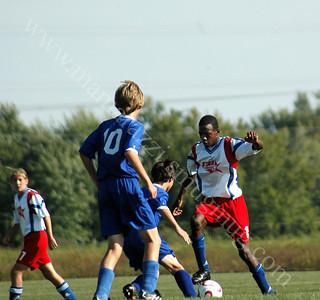Boys Tippco Soccer vs Muncie Starsoccer Sepetember 30 2007
