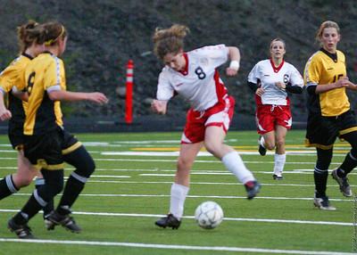 White Salmon High School vs. Onalaska High School, varsity, October 29, 2007
