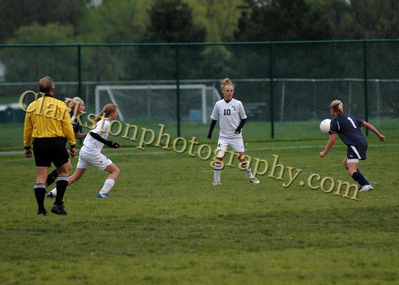 Clarkston vs  Kettering Varsity Girls Soccer 5-12-08 image 029