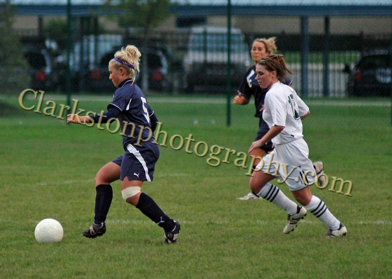 Clarkston vs  Kettering Varsity Girls Soccer 5-12-08 image 016