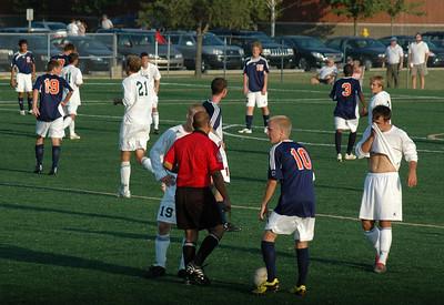 Westfield vs Harrison  High School Soccer August 19, 2008