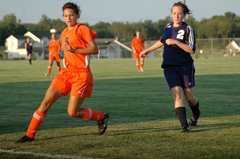 August 18, 2008<br /> Wm Harrison High School vs Central Catholic<br /> Girls Soccer Match at Harrison