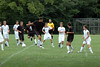 August 9, 2008<br /> Harrison Raiders Boys <br /> Soccer Scrimmage and Picnic<br /> Varsity in black , JV in White