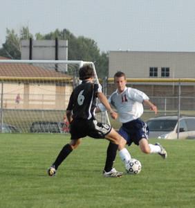 Avon vs Harrison - September 2 2008  Guys Soccer  High School Soccer Game