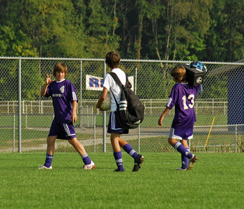 9 24 08 - September 24, 2008 Harrison Raiders vs Brownsburg Bulldogs Developmental Soccer Team