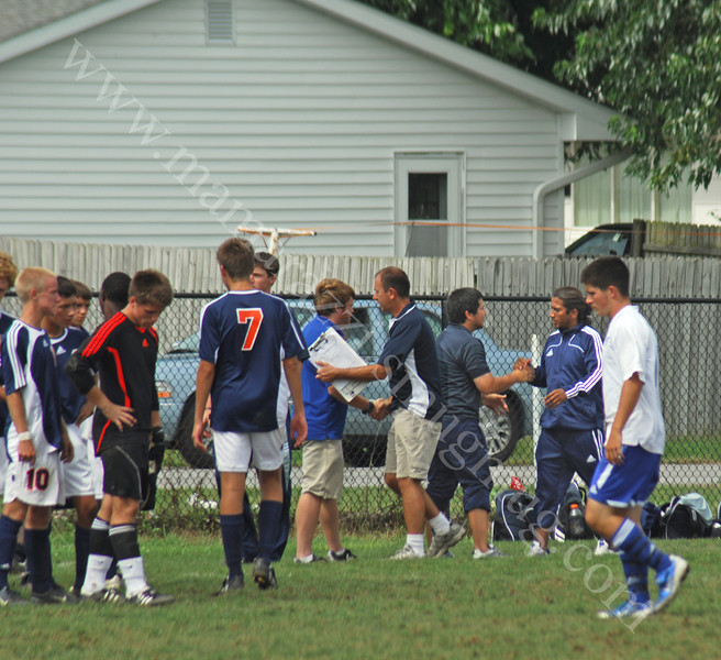 September 13, 2008<br /> High School Soccer Game<br /> Frankfort vs Harrison