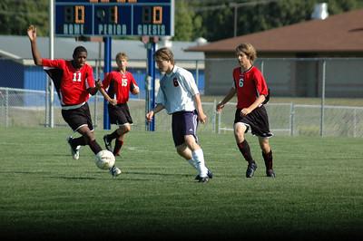 Lafayette Jeff vs Harrison  - August 26, 2008  High School Men's Soccer Game