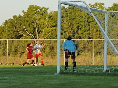 Girls McCutcheon vs Harrison Soccer Game September 10, 2008