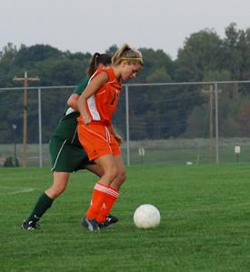 Girls Harrison Raiders vs Benton Central Bison Soccer Games September 22, 2008