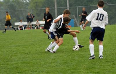 Zionsville vs Harrison Development / Freshman Soccer Game - September 11, 2008