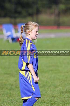 10/10/2008 (Girls U10 Gold) East Meadow Stars vs. Smithtown Crush