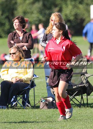 10/12/2008 (Girls U13 Gold) Little Neck Titans vs. Northport Flames