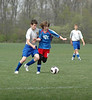 April 27, 2008<br /> Soccer Match at Muncie Sportsplex<br /> Tippco Blue Heat vs Starsoccer Flyers