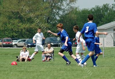 5-10-08 Tippco Blue Heat vs Center Grove Soccer Match May 10, 2008