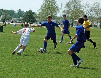 6-08-08 Tippco Blue Heat vs FC Pride 94 premier U14 Boys Soccer Match