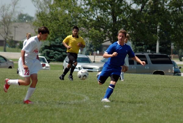 FC Pride Club Soccer Action