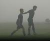 3767<br /> June 14, 2008<br /> Foggy Morning for soccer