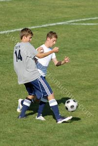 Benton Central vs Harrison High School Soccer October 1, 2009