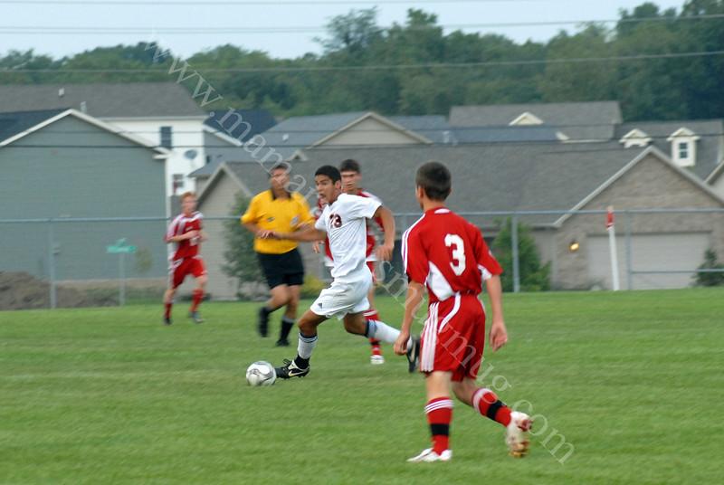September 15, 2009<br /> Harrison vs Fishers<br /> Soccer Game