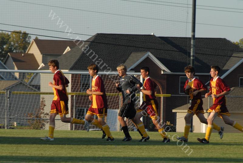September 16, 2009<br /> Harrison vs McCutcheon<br /> Soccer Game